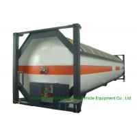 China T50 Type 40FT DME LPG ISO Container , LPG Tank Container For Shipping on sale