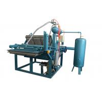 Quality 1000pcs/h Stable Pour Suction Safe High Efficiency Manual Operation Egg Tray Production Line for sale