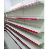 Buy Commercial Retail Shelving Supermarket Racks Steel Plain Back Panel at wholesale prices
