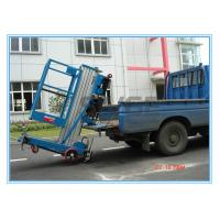 Quality Window Cleaning Operate Elevated Work Platforms , 8 Meter Height Vertical Mast Lift for sale
