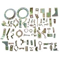 Quality Copper Metal Stamping Parts Sandblasted Surface 0.05 - 12 MM Thickness for sale