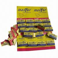 Quality 200-carton ready goods razor blades from maxtop for sale