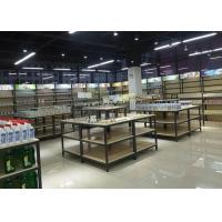 Buy Disassembly Shop Wooden Retail Display Shelves With Melamine / Wood Steel at wholesale prices