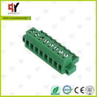 Quality PA66 Material Connector Plug in Terminal Block 0.4Nm Torque  2.5mm² for sale