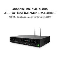 Quality Professional home ktv karaoke player sing machine hd jukebox with songs cloud,support  H.265 video, build in AGC/AVC for sale