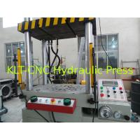 Quality 400T Series Four-Column Hydraulic Deep Drawing Press For Straightening / Plastics Moulding for sale