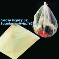 Quality PVA Water Soluble Laundry Bag Infectious Waste Plastic Biodegradable bags, hot water soluble laundry bag, bagease, pac for sale
