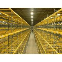 Quality Custom Selective Pallet Racking Systems / Fixed Steel Frame Storage Shelves for sale