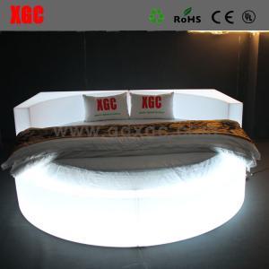 Hot sale newest design modern led light bed