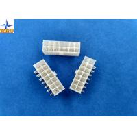 Quality Dual Row Wafer Connector 4.2mm Pitch Right Angle Mini-Fit Header without Flange for sale