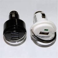 Quality Mini USB car chargers for cellphones, Navigator, tablet PC and Laptop computers for sale