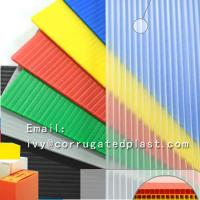 Quality PP Hollow Sheet , Corrugated Plastic Sheets, Corrugated Plastic Board for sale