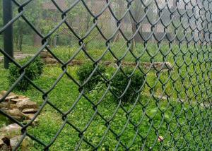 Quality Decorative 50x50mm Galvanized Chain Link Fence 8 Gauge for sale