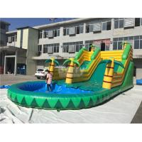 Quality Kids Inflatable Water Slides for sale