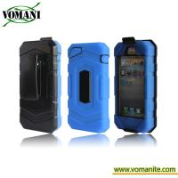 Quality Waterproof case for iphone5 hard case,with Belt Clip for sale