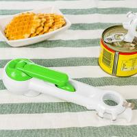 Quality Picnic Gift Household 7 In 1 Can Opener , Multi Function Plastic Kitchen Tools for sale