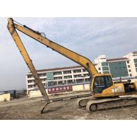 China 21M Long Boom Used Excavator Machine Hyundai R210-5D 600mm Shoe Size on sale