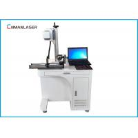 Quality Tabletop Dynamic Automatic CO2 Laser Marking Printing Machine With Rotary Devices for sale