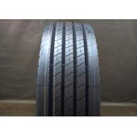 Quality Rib Type Pattern 11R 22.5 Truck Tires Four Straight Grooves Tread Tear Resistance for sale