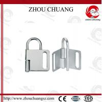 Quality NEW DESIGN Zc-K31 Dust  Proof  Butterfly Steel  Lockout Hasp  60mm for sale
