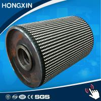 1250*500*15 mm High Wear Resistant Drive Pulley Rubber Ceramic Lagging