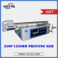 Quality New design and high performance uv flatbed type 3d wall tiles printer, 3d floor tiles inkjet printer low price printers for sale