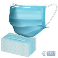 Quality High elastic flat ear strap Disposable mouth Mask 50pcs / pack for sale