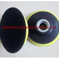 China Strong strength adhesive hook loop polishing abrasive on sale