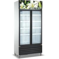China Commercial Refrigerator Freezer LC-1000M2F , Vertical Showcase With Glass Door on sale