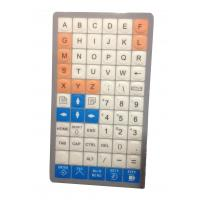 Quality Special customs membrane keyboard with flat keys, customized layout supplier from China for sale