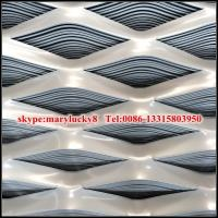 Quality Aluminum expanded wire mesh/Expanded Aluminum metal mesh for sale
