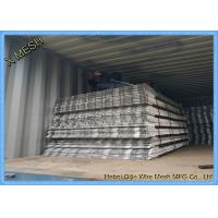 China Stainless Steel Staircase Anti - Slip Steel Mesh / Expanded Metal Fence Free Sample on sale