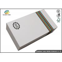 Quality Customized Paper White Cardboard Gift Boxes For Apparel Packaging Manufacture for sale