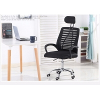 Quality Revolving Plastic Executive Mesh Ergonomic Upholstered Office Chair for sale