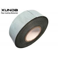 Quality Xunda Joint Wrap Tape For Gas Pipe And Fitting Corrosion Protection Black Color for sale