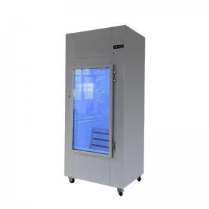 Quality Outdoor Glass Door Ice Bagged Storage Merchandiser for sale