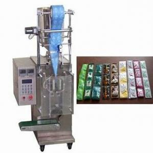 Quality Flat Pressing Automatic Fill Seal Vertical Sachet Packaging Machine for sale