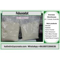 China Pharmaceuticals Inhibitors Powder Febuxostat For Antihyperlipidemic 144060-53-7 on sale