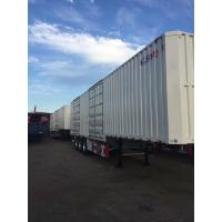 Quality Isolated Curtain Side Trailer Optional ABS Braking System For Super Market for sale