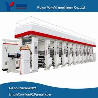 Quality Strong Quality High Speed 160m/Min 1-8 Colors Gravure Press Rotogravure Printing machine for sale