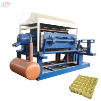 China Pulp Egg Tray Moulding Machine Paper Pulp Machine Eggs Tray Machine on sale