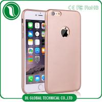 Quality 0.85MM Ultra Thin Slim iPhone Cell Phone Cases iPhone 6 Leather Cover Pink for sale