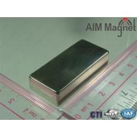 Quality Size:50x25x12mm Ndfeb Long Block Magnet For Wind Generator for sale