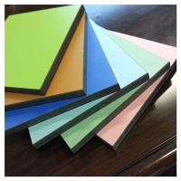 Quality White color hpl high pressure laminate sheet board for sale