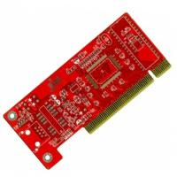 Quality High quality red soldermask pcb gold finger for sale