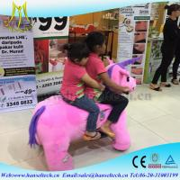 Hansel mechanical horse kids rides and mall animal electric riders amusement park fairground rides for sale