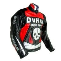 Quality Duhan Motorcycle Racing Leather Jacket with Removable Armor for sale