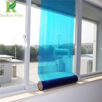 Quality 0.025-0.2mm Blue Quality Assurance Protective Film on Commercial Windows for sale