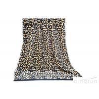 Buy Professional Sexy Leopard Custom Printed Beach Towels With Tassel at wholesale prices