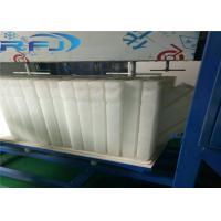 Quality Commercial Round Block Ice Machine 3 Tons Capacity Aliminium Plate Ice Moulds Material for sale